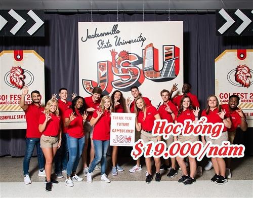 Học bổng $19,000 ấn tượng từ trường Đại học tốt nhất khu vực phía Nam - Jacksonville State University