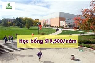 Học bổng du học Mỹ trị giá $19,500 từ trường Bowling Green State University