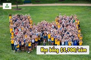 Học bổng du học Mỹ trị giá $5,700 từ Webster University