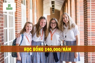"""Học bổng du học Mỹ """"siêu khủng"""" lên đến $40,000 từ Brool Hill School"""