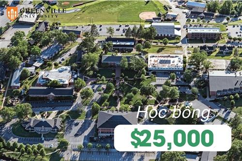 Greenville University trao học bổng lên tới $25,000 cho du học sinh quốc tế
