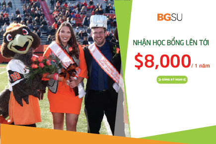 Trường Bowling Green State University (BGSU) - Top 10% các trường đại học công lập và tư thục hàng đầu cấp quốc gia