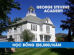 Đừng bỏ lỡ học bổng $30,000/năm từ trường nội trú tốt nhất bang Maine, George Stevens Academy
