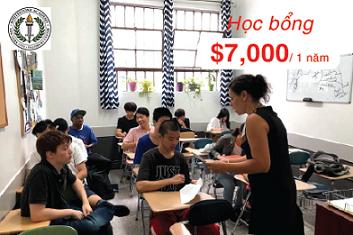 Học bổng du học Mỹ trị giá $7000 từ trường tư thục Whitestone Academy