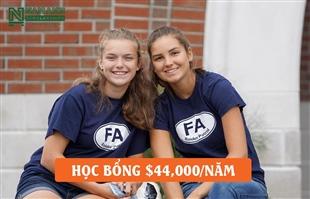 """Đừng bỏ lỡ cơ hội nhận học bổng """"khủng"""" lên đến $44,000 từ Fryeburg Academy"""