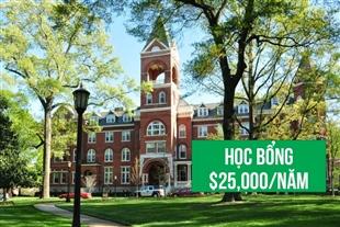 Học bổng du học Mỹ trị giá đến $25,000 từ Agnes Scott College