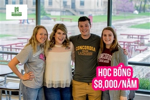 Du học Mỹ cùng Concordia University Chicago với học bổng trị giá $8,000