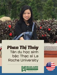 Chúc mừng du học sinh Nam Anh giành học bổng du học Mỹ kì mùa Xuân năm 2020